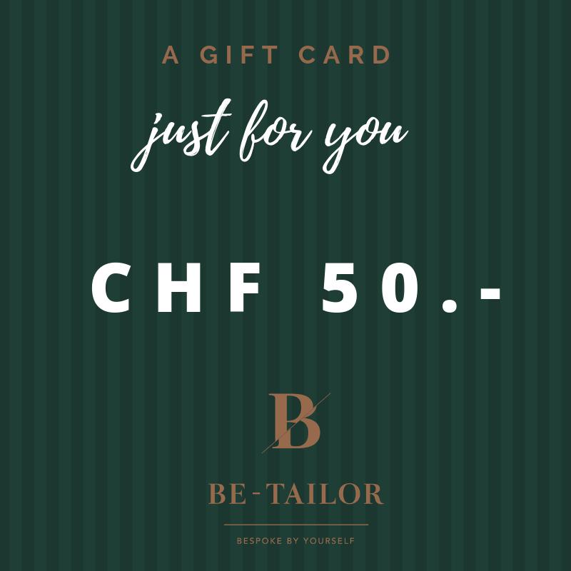 Gift Card CHF 100.-