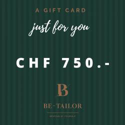 Gift Card CHF 750.-