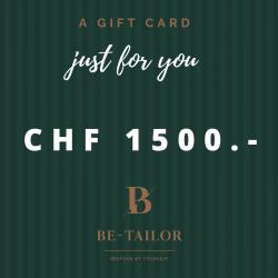 Gift Card CHF 1500.-