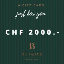 Gift Card CHF 2000.-