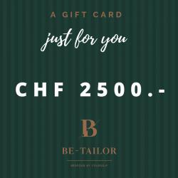 Gift Card CHF 2500.-
